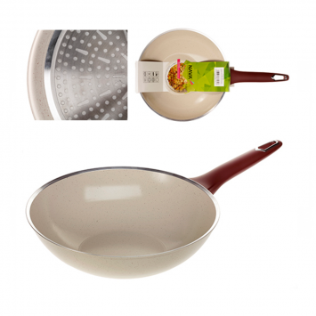"Tigaie ceramica wok 28 cm ""Eco Friendly"""