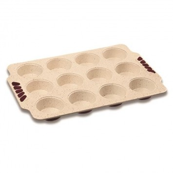 """Tava cuptor invelis ceramic """"Muffins"""""""