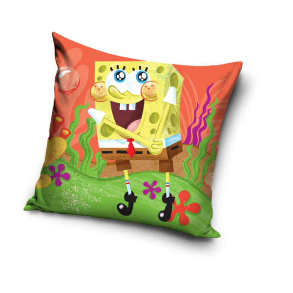Fata de perna Sponge Bob Orange, 40x40 cm