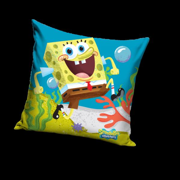 Fata de perna Sponge Bob Blue, 40x40 cm