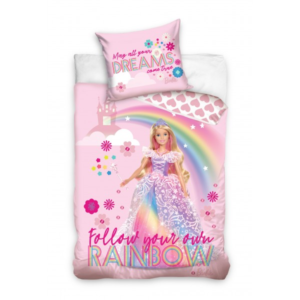 Lenjerie de copii BARBIE Rainbow