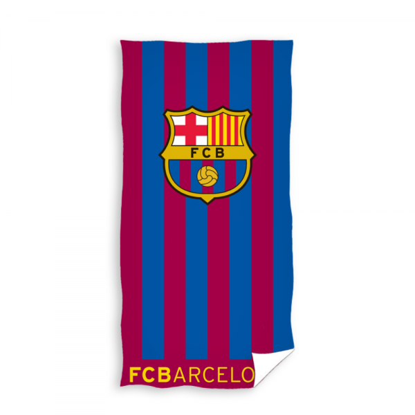 Prosop de plaja bumbac 100%, FC Barcelona 01