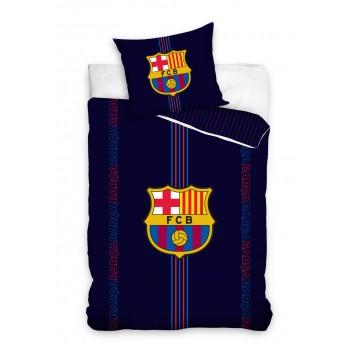 Lenjerie de pat tineret FC Barcelona 030