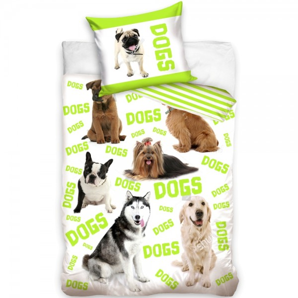 Lenjerie de pat tineret DOGS