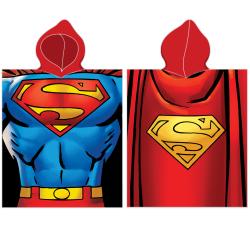 Poncho Superman, 50x115 cm
