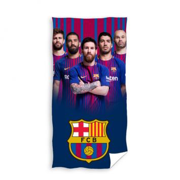 Prosop de plaja bumbac 100%, FC Barcelona