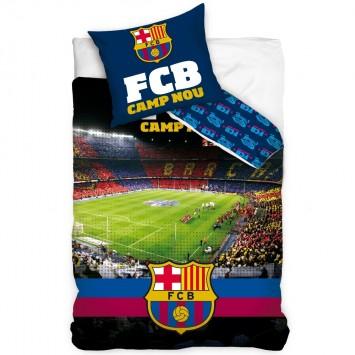 Lenjerie de pat tineret FC BARCELONA STADION