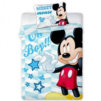 Lenjerie patut baby - Mickey Mouse 05