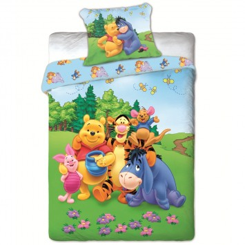 Lenjerie de copii Disney Winnie Pooh and Friends