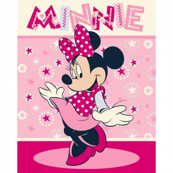 Patura fleece Disney Minnie Mouse