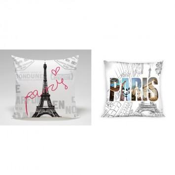 Fata de perna PARIS, 40x40 cm
