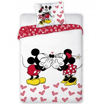 Lenjerie de copii Disney Minnie & Mickey Mouse