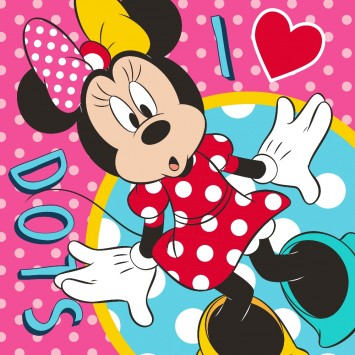 Prosop Magic Disney Minnie Mouse, 30x30 cm