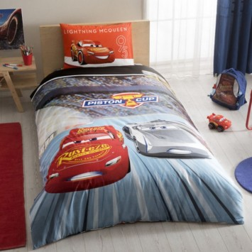 Lenjerie de copii Disney TAC, CARS 3