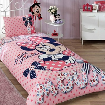 Lenjerie de copii Disney TAC, MINNIE MOUSE DREAM - Bumbac