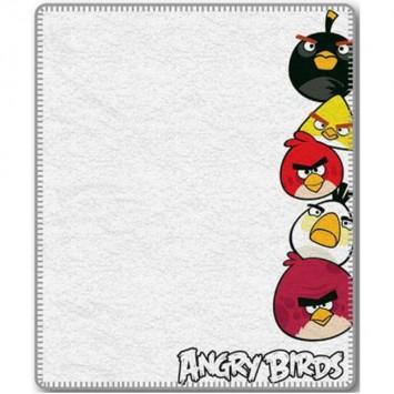 Patura pentru copii Fleece Angry Birds AB 040