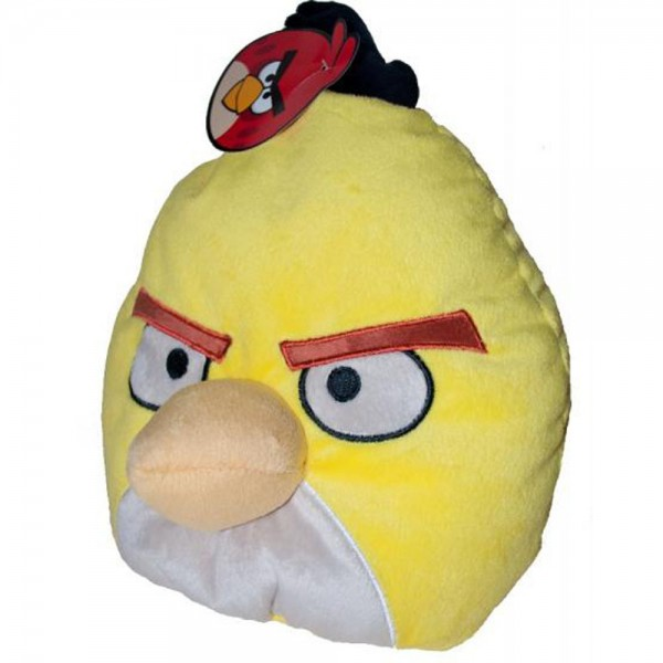 Perna decorativa copii ANGRY BIRDS, CHUCK Plush