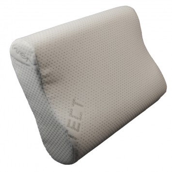 Perna ergonomica ViscoFeel, 48x33cm - SILVER PROTECT, Billerbeck