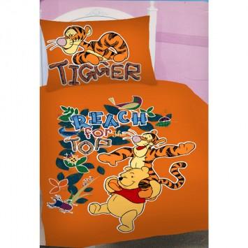Lenjerie Disney WTP TIGGER - Oferta!! Lenjerie pat copii