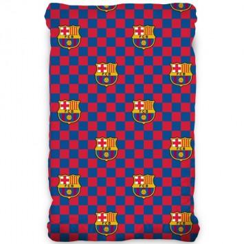 Cearceaf de pat cu elastic, FC Barcelona 90x200 cm