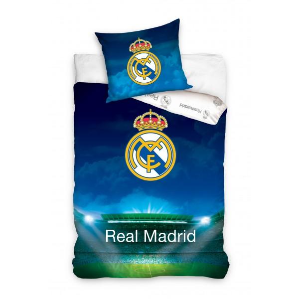 Lenjerie de pat tineret Real Madrid STADION